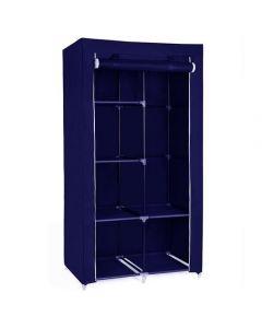 Φορητή υφασμάτινη ντουλάπα Herzberg HG-8010-BL Μπλε 5142