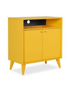 Έπιπλο TV-Ντουλάπι-Παπουτσοθήκη 6 ζεύγων London pakoworld κίτρινο 72x40x79εκ 039-000006