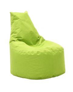 Πουφ πολυθρόνα Norm pakoworld υφασμάτινο αδιάβροχο πράσινο 056-000004