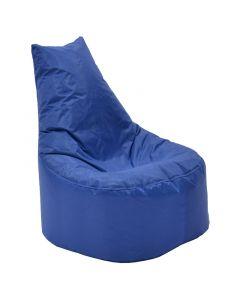 Πουφ πολυθρόνα Norm PRO pakoworld επαγγελματικό 100% αδιάβροχο μπλε 056-000038