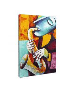 Πίνακας σε καμβά PWF-0084 pakoworld με ψηφιακή εκτύπωση 30x3x40εκ 071-000045