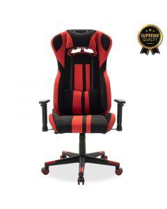 Καρέκλα γραφείου Bottas-Gaming SUPREME QUALITY με pu χρώμα μαύρο-κόκκινο 095-000001