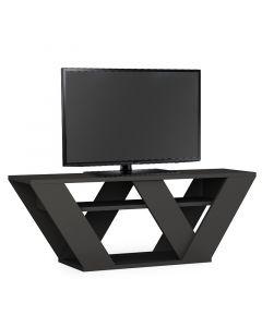 Έπιπλο τηλεόρασης Pipralla pakoworld ανθρακί  110x40x30εκ 119-000966