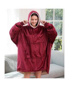 CozyHoodie – Βελούδινη Oversized Μπλούζα – Κουβέρτα 6208