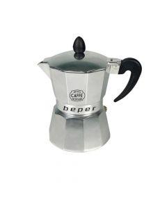 Beper CA.014 Καφετιέρα espresso 3 φλιτζανιών κατάλληλη και για επαγωγικές εστίες 5226