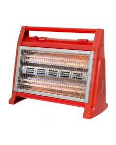 Zilan Θερμάστρα χαλαζία με υγραντήρα κόκκινη 1600W ZLN1114-RED 6308
