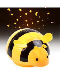 HEITECH LED STARRY SKY PROJECTOR BEE NIGHT LIGHT TOUCH HEI0000435