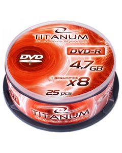 ESPERANZA DVD-R TITANUM 4,7GB X8 CAKE BOX 25PCS 1070