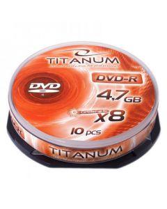 ESPERANZA DVD-R TITANUM 4,7GB X8 CAKE BOX 10PCS 1071
