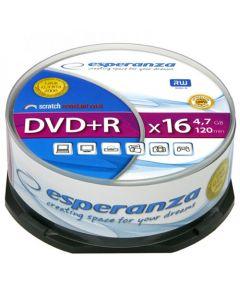 ESPERANZA DVD+R 4,7GBX16 CAKE BOX 25PCS 1116