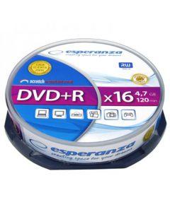 ESPERANZA DVD+R 4,7GBX16 CAKE BOX 10PCS 1117
