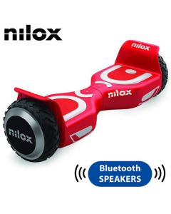 NILOX BLUETOOTH DOCK 2 HOVERBOARD RED/WHITE 30NXBK65BWN07