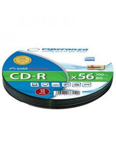 ESPERANZA CD-R SILVER SOFT PACK 10PCS 2003