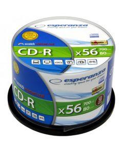 ESPERANZA CD-R SILVER CAKE BOX 50PCS 2004