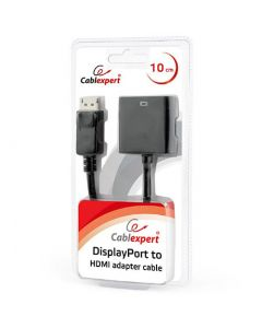 CABLEXPERT DISPLAYPORT TO HDMI ADAPTER CABLE BLACK BLISTER AB-DPM-HDMIF-002