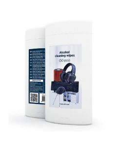 GEMBIRD ALCOHOL CLEANING WIPES (50PCS) MICRO-FIBER CK-AWW50-01
