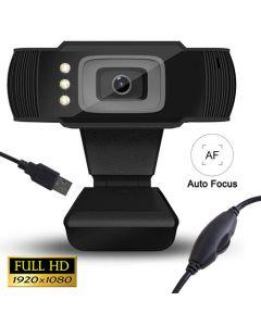 Web Camera με LED Full HD με USB 1080P LAM021509