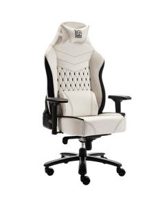 LC POWER GAMING CHAIR BLACK/WHITE XL SIZE LC-GC-800BW