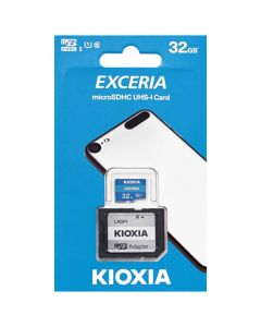 KIOXIA MICRO SD 32GB WITH ADAPTER UHS I U1 (M203) LMEX1L032GG2