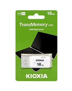 KIOXIA USB 2.0 FLASH STICK 16GB HAYABUSA WHITE U202 LU202W016GG4