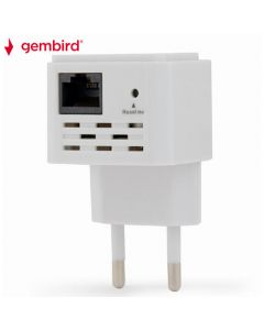 GEMBIRD WIFI REPEATER 300MBPS WHITE WNP-RP300-03