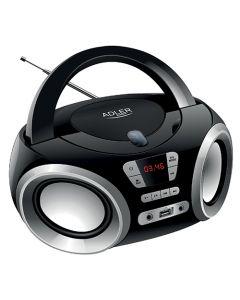 ADLER PORTABLE CD USB BOOMBOX AD1181