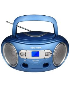 TOSHIBA AUDIO PORTABLE CD BOOMBOX BLUE TY-CRS9-BLU