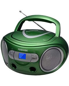 TOSHIBA AUDIO PORTABLE CD BOOMBOX GREEN TY-CRS9-G