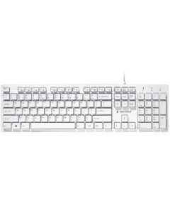 GEMBIRD MULTIMEDIA CHOCOLATE KEYBOARD USB US LAYOUT WHITE KB-MCH-03-W