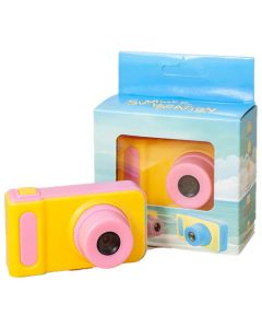 DIGITAL MINI CAMERA FOR KIDS WITH VISUAL EFFECTS PINK CT-KDC-VE-P