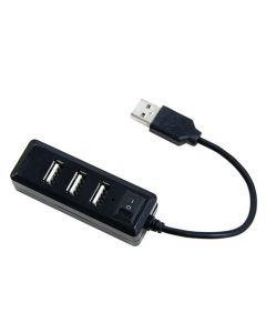 LAMTECH 4-PORT USB HUB BLACK LAM021479