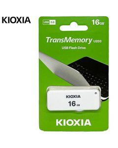 KIOXIA USB 2,0 16GB U2 YAMABIKO U203 WHITE LU203W016GG4