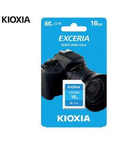 KIOXIA SD EXCERIA 16GB UHS I 100MBs LNEX1L016GG4