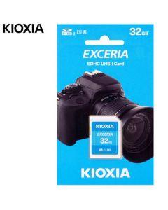 KIOXIA SD EXCERIA 32GB UHS I 100MBs LNEX1L032GG4