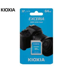 KIOXIA SD EXCERIA 64GB UHS I 100MBs LNEX1L064GG4