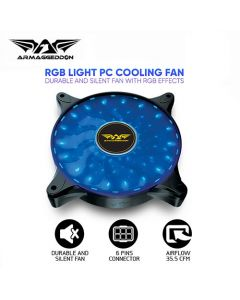ARMAGGEDDON RGB LIGHT PC COOLING FAN NEURON GALAXY NGSFX