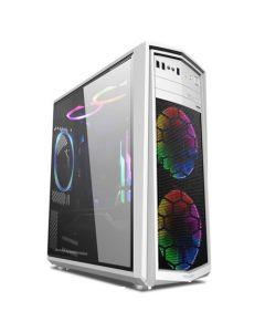 ARMAGGEDDON GAMING PC CASE TX5 PRO II WHITE T5XIIW