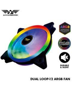 ARMAGGEDDON PC COOLING FAN ARGB TX DUAL LOOP-12 TXDL12
