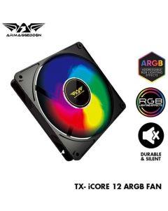 ARMAGGEDDON PC COOLING FAN ARGB TX iCORE-12 TXI12