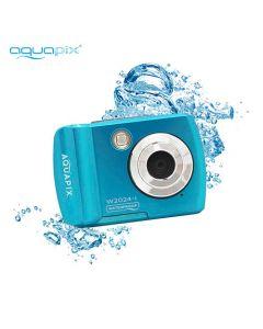 <p> AQUAPIX WATERPROOF CAMERA W2024-W SPLASH ICEBLUE</p> AQUA10065