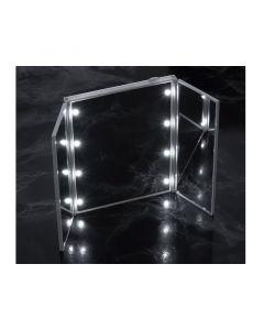 Φορητός Καθρέπτης Ταξιδιού με LED Φωτισμό και Βάση GloBrite VL2026 - 6932