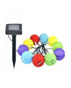Ηλιακή Γιρλάντα Φωτισμού LED με 10 Λαμπτήρες 2.4 m Hoppline HOP1000151 - 10532