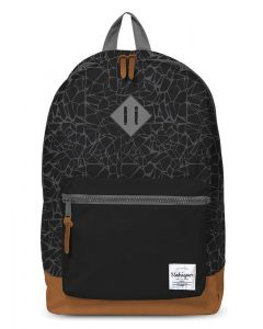 Unkeeper τσάντα δημοτικού μαύρη με 2 θήκες 43x32.5x13.3εκ. - 28764------2