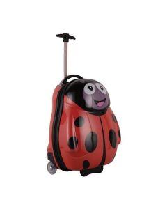 Βαλίτσα τρόλευ πασχαλίτσα 47x32x20εκ. - 26386-07---2