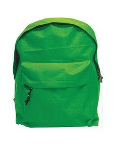 Τσάντα πλάτης πράσινη με 1 θήκη 42x32x16εκ. - 32000-05---2