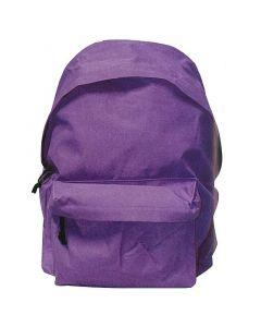 Τσάντα πλάτης μωβ με 1 θήκη 32x42x16εκ. - 32000-42---2