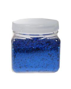 Χρυσόσκονη σε νιφάδες 1χιλ.  μπλε 300ml. - 27645-03ΖΤ-2