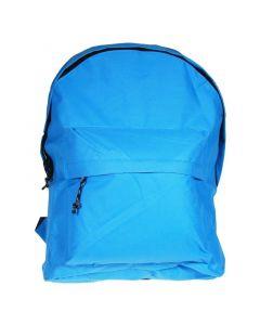 Τσάντα πλάτης γαλάζιο με 1 θήκη 42x32x16εκ. - 32000-03---2