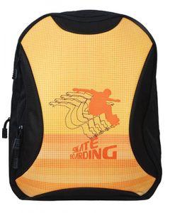 Tiger τσάντα πλάτης δημοτικού Skate πορτοκαλί με 1 θήκη 43x33.5x21εκ. - 25759-13ΒΦ-2