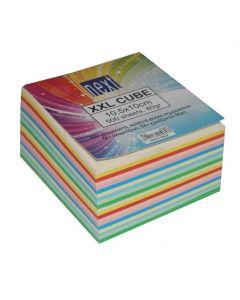 Next κύβος χρωματιστός κολλητός xxl 500φυλ.10x10.5x5.5εκ. - 01060------3